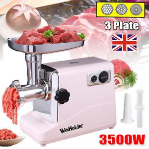 3500W Electric Meat Grinder Mincer Machine Food Mincing Sausage Maker Filler