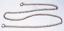 Collier chaine en ARGENT massif maille forçat bijou silver chain