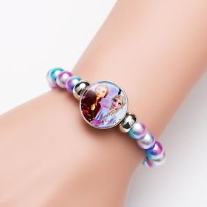 Disney Frozen Beaded Bracelet Toy Accessories for Girls Gift for Kids Christmas