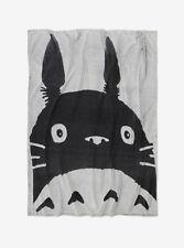 "Studio Ghibli My Neighbor Totoro Tonal Face Super Soft Throw Blanket 48""x60"" NWT"