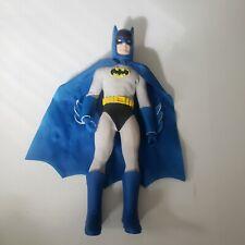 """Mego BATMAN Retro 2010 DC Mattel 8"""" Action Figure Loose Vintage Gray Blue Suit"""
