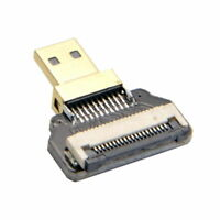 USA  Micro HDMI Type D Male Connector Standard for FPV HDTV Aerial Photography