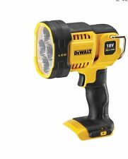 DEWALT DCL043 CORDLESS 18V JOBSITE LED SPOTLIGHT TORCH LANTERN body only
