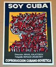 "24x36""Cuban movie Poster art for film""Soy Cuba""Cuba Rene Portocarrero painting"