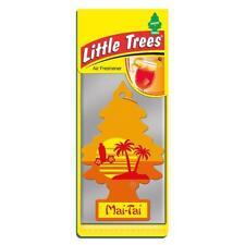 4 X Piccolo Magic Tree Deodorante auto mai-Tai Freshner 2D