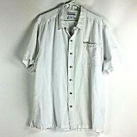 Columbia Button Down Shirt Cotton Blend Mens Size XXL