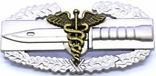 MEDICAL Combat Action Badge Army CAB Military Airborne Insignia Pin