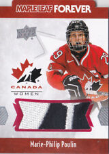 16-17 Team Canada Women Marie-Philip Poulin PATCH Maple Leaf Forever UD 2016