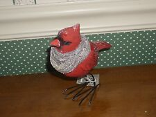 Gallerie Ii- Holiday Cardinal With Scarf Figurine-New -2017