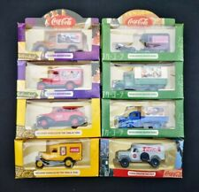Lot of 8 Boxed LLEDO Days Gone COCA COLA Collectable Diecast Models COKE Trucks
