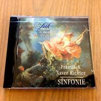 Franz Xaver Richter – Sinfonie - NEW & SEALED CD – Suk Chamber Orchestra Prague