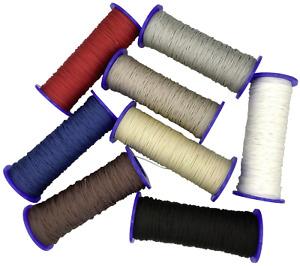 Schnur für Plissees 0,8 mm - Plisseeschnur - Spannschnur für Plissee - 8 Farben