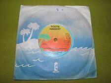 "Toots Hibbert - Spiritual Healing + Instrumental - RARE Original UK 7"" 45 Reggae"
