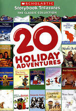 20 Holiday Adventures: Scholastic Storybook (DVD, 2015) New & Sealed