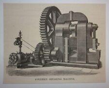1876 Collier's Shearing Machine Engraving