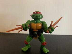 Raphael Hard Head 1988 TMNT Teenage Mutant Ninja Turtle Action Figure V-Good Con