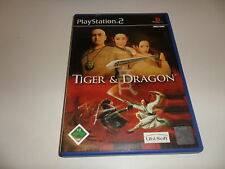 PLAYSTATION 2 TIGER & DRAGON
