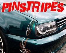 PIN STRIPE SET AUFKLEBER PINSTRIPES AUTO DESIGN TUNING CAR STYLING FOLIE NEU HIT