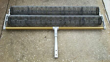"48"" Roller Tamp for stamped concrete with 1-3/4"" Diameter Button Adapter"