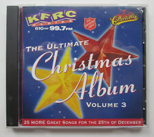 Ultimate Christmas Album Vol. 3 KFRC by Various Artists (CD Mar-2006 Collection)