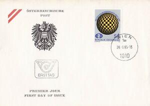 AUS305) Austria 1985 Congress Of The World Chess Federation