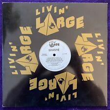 "ROXANNE SHANTE Straight Razor 12"" LIVIN LARGE Rap Hip Hop LARGE PROFESSOR Remix"