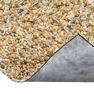 OASE PVC STONE POND LINER 0.6m WIDTH (60cm) PER METRE -DECORATIVE FINE PEBBLES
