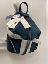 Rebecca Minkoff  Julian Convertible mini navy   Nubuck  Leather Backpack