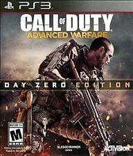 PS3 Call of Duty: Advanced Warfare - Day Zero Edition (Sony PlayStation 3, 2014)