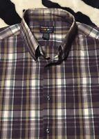 EUC>>Men's>>Shirt>>Alexander Julian>>Size XL>>Long Sleeve>>Button Down>>Blend