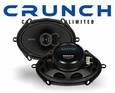 "Crunch DSX572 5""x7"" 2 Way Coaxial Car Speakers 1 Pair Fast dispatch NEW"