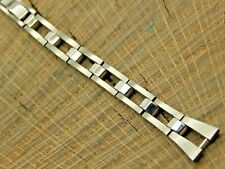 NOS Seiko Vintage Unused Butterfly Clasp Stainless Steel Watch Band 10mm Ladies