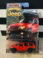 Matchbox Jeep Grand Cherokee Anniversary Edtion