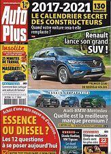 AUTO PLUS N°1501 9 JUIN 2017 RENAULT KOLEOS_ESSENCE OU DIESEL?_AUDI-BMW-MERCEDES