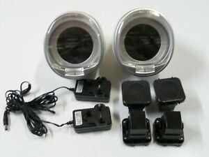 2x Lot Automatic Watch Winder Box Single Watch Turner Rotator Case Quiet Motor