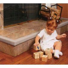 Cushiony Baby Child Safety Fireplace Guard + 2 Corners Grey New
