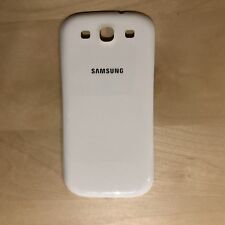 OEM Samsung Galaxy S3 SIII Back Door Battery Cover White
