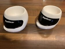 Top Gear - The Stig Helmet Egg Cup Official BBC merchandise x2
