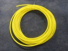 "1/4"" Pneumatic Polyethylene Tubing for Push In Fittings Yellow  10 FT PE0417-Y"