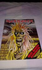 iron maiden first songbook 1980 year