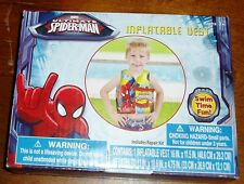 Ultimate Spider-Man Inflatable Vest with repair kit ages 3+ years