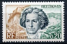 STAMP / TIMBRE FRANCE NEUF LUXE °° N° 1382 ** BEETHOVEN