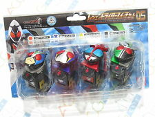 Masked Kamen Rider Fourze Legend Rider Switch Set 05 Riderman Blade Kabuto W
