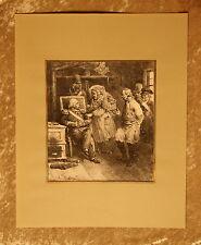 """""""Mon genèral C 'est elle qu' a"""", Franz. litografia 1830 di F. De Villain"""