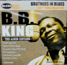 B.B. KING BROTHER IN BLUES, NEW! CD, FREE SHIP, RARE 20 TRACKS EARLY YEARS IMPOR
