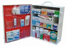First Aid Kit Box 3 Shelf Emergency Survival Kit 900 Pieces Service 200 People