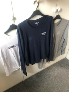 Womens/ladies Hollister t shirt bundle size M