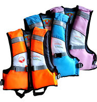 KIDS CHILD KAYAK SKI BUOYANCY AID SAILING WATERSPORT LIFE JACKET PFD VEST