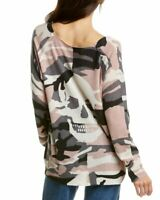 Skull Cashmere Scout Camo Cashmere Sweater Women's
