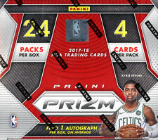 2017/18 Panini Prizm Basketball 24 Pack Box FACTORY SEALED, WITH 1  AUTO PER BOX
